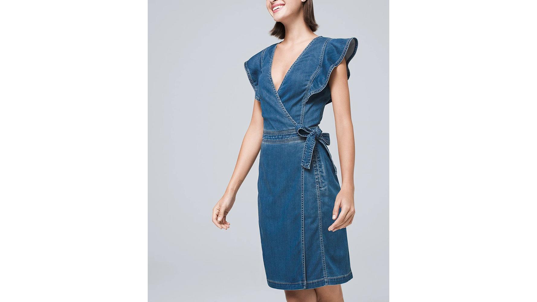 WHBM Denim Dress