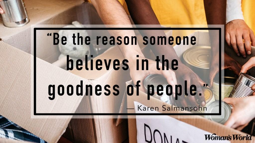 Karen Salmansohn quote