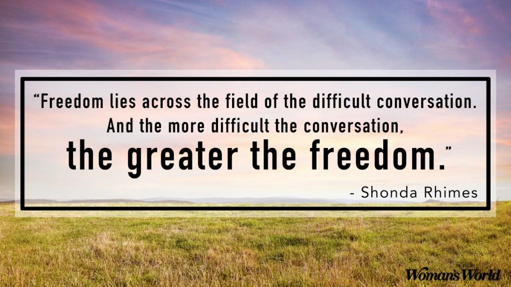 Shonda Rhimes quote