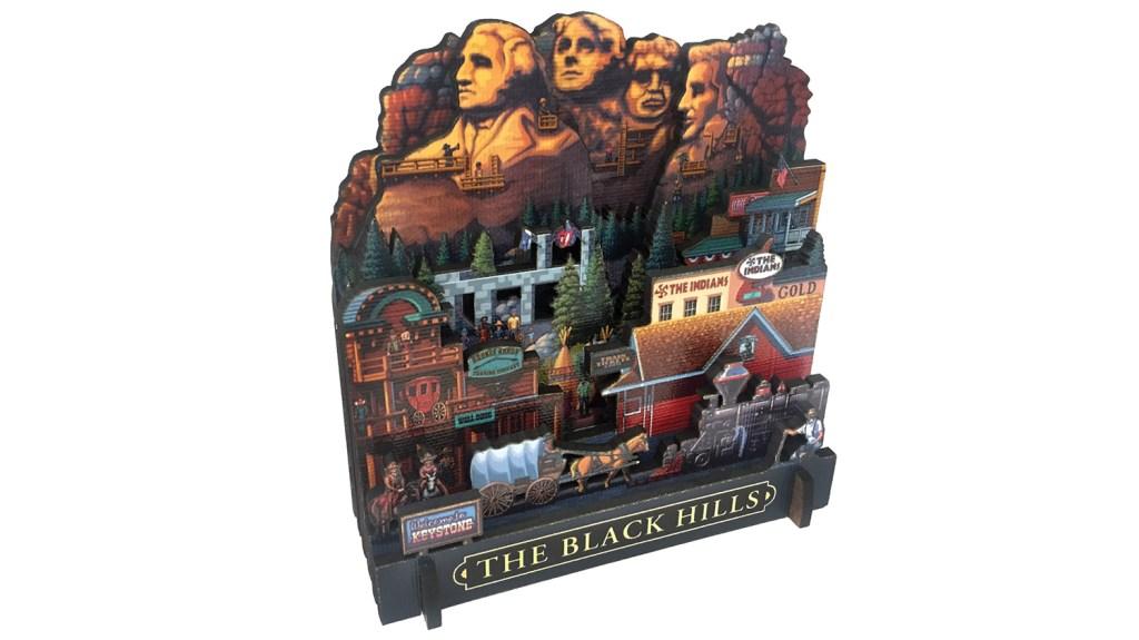 black hills 3d puzzle