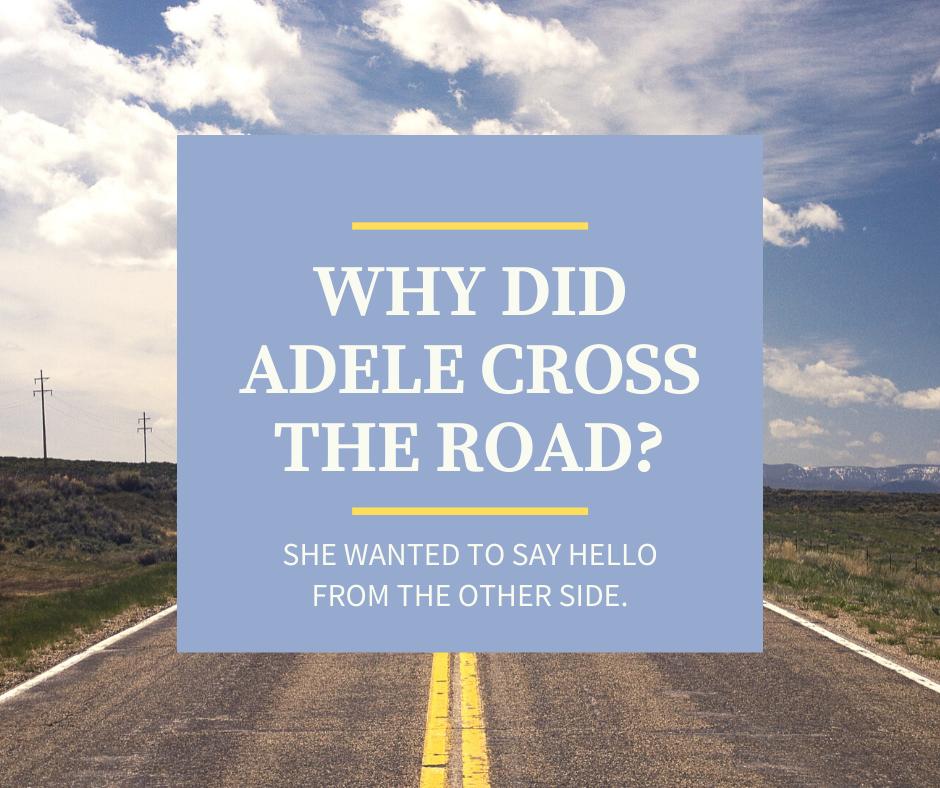 Adele joke