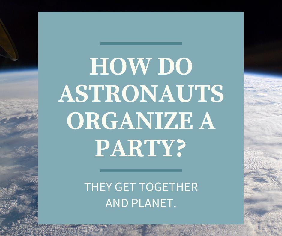 Astronauts joke