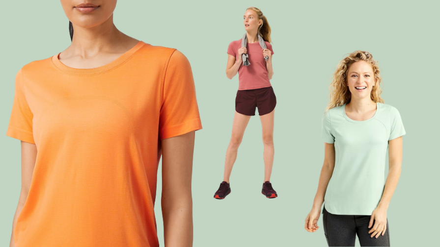 Moisture-Wicking Shirts That Will Keep You Dry When You Exercise