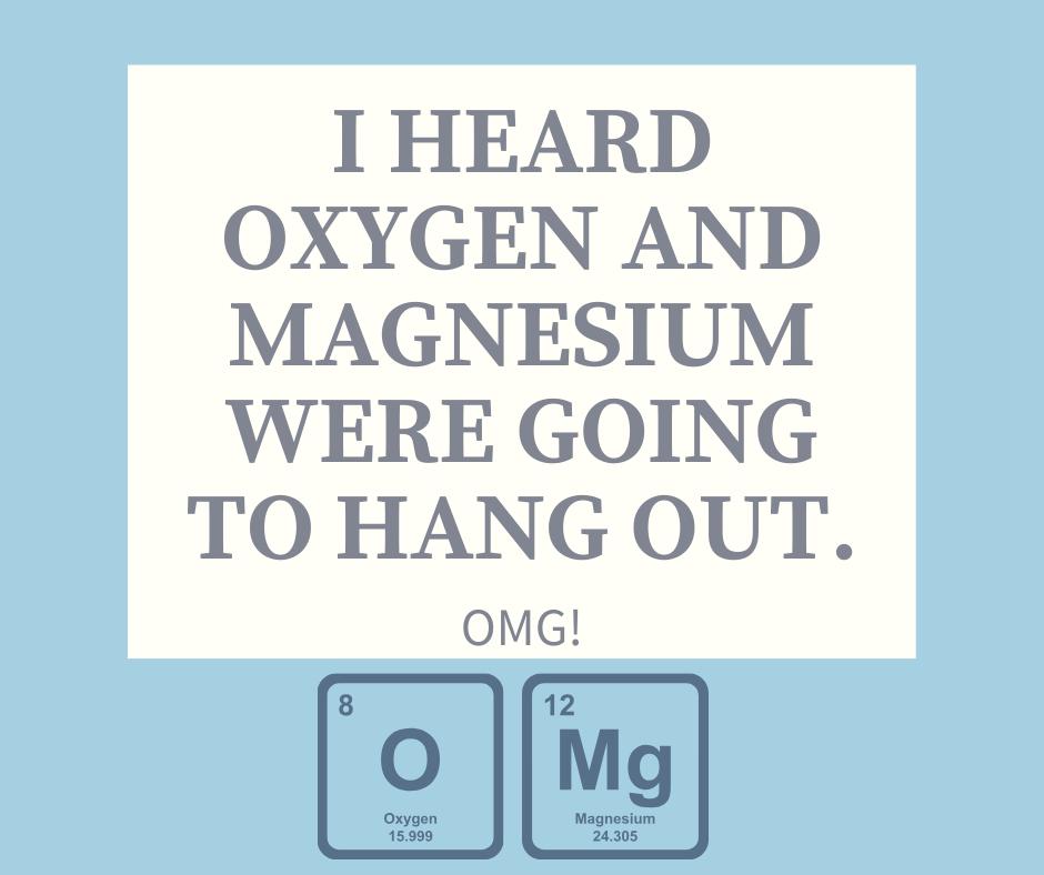 Chemistry joke