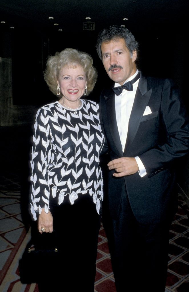 Alex Trebek and Betty White