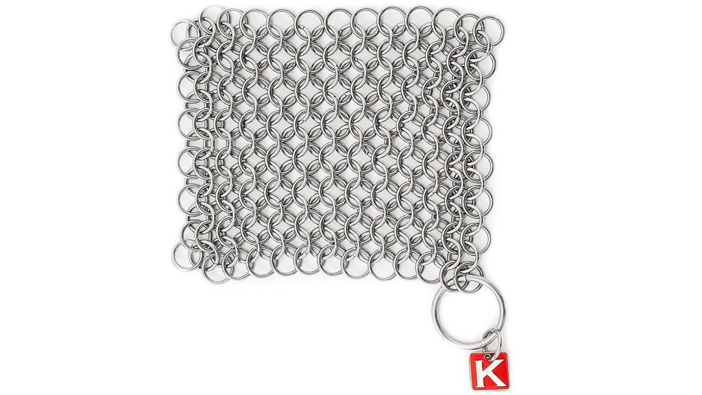 chain mail scrubber kitchen gadget