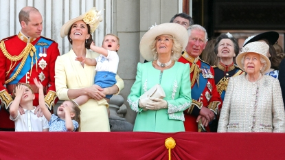 Royal Family at 2019 Trooping of the Colour