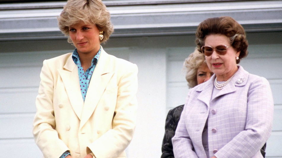 Princess Diana and Queen Elizabeth