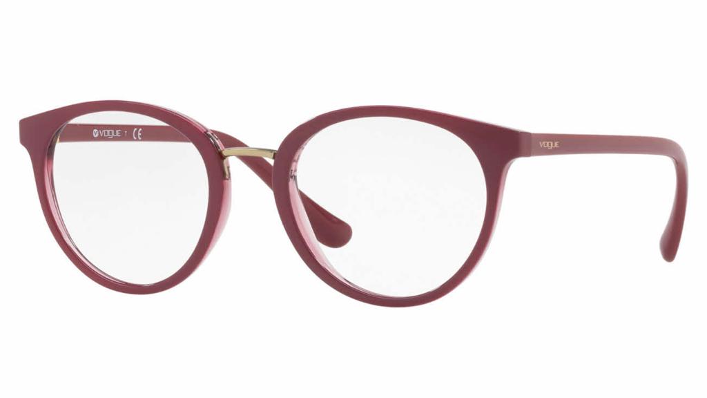 vogue round glasses