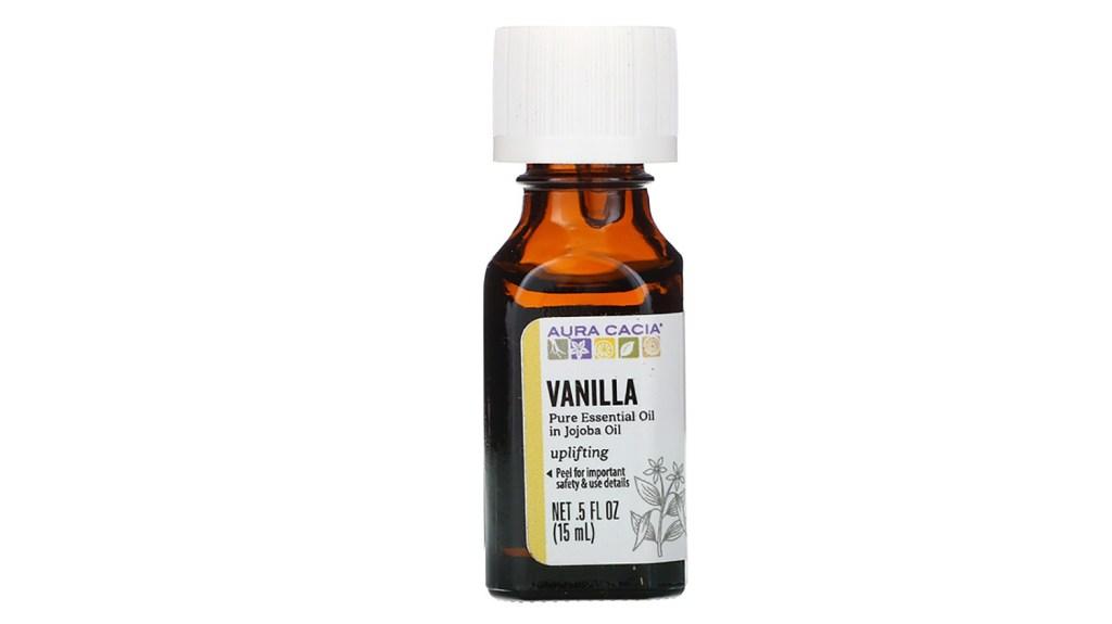 aura cacia vanilla essential oil