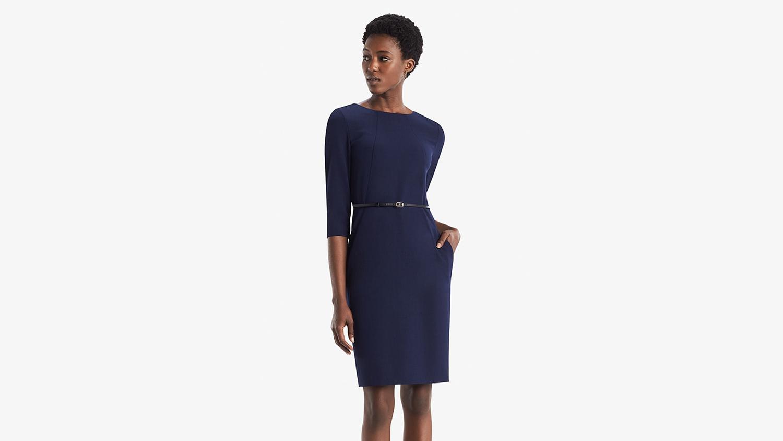 best work dress