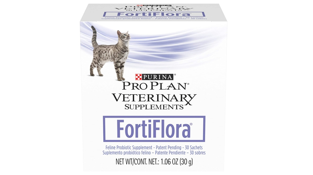 cat vitamins purina fortiflora
