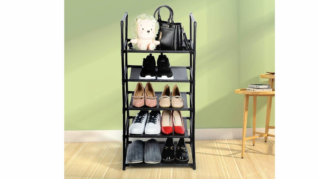dorm essentials shoe rack