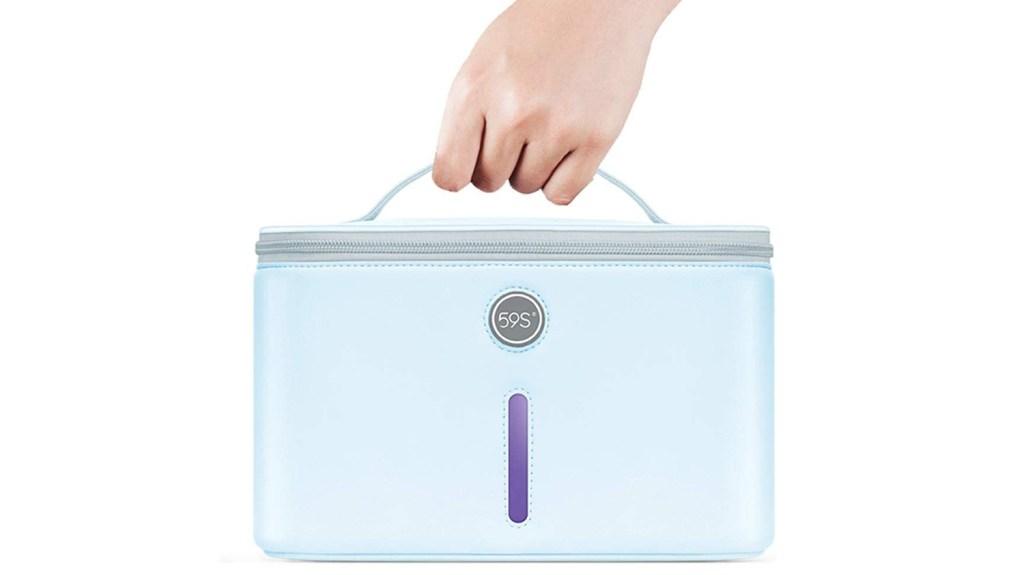 dorm essentials UV sanitizer bag
