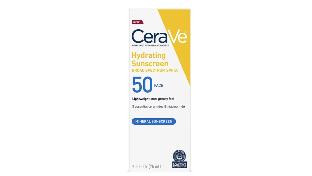 cerave mineral sunscreen