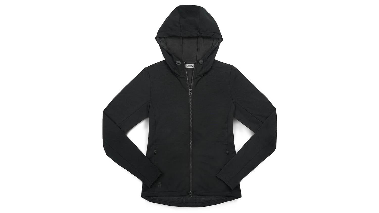 merino workout hoodie