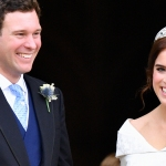 Princess Eugenie and Jack Brooksbanks on their wedding day