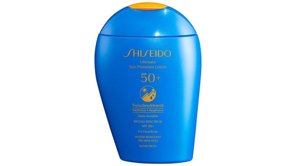 Shiseido sunscreen