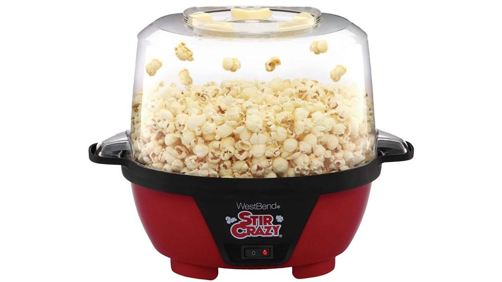 west bend stir crazy popcorn machine