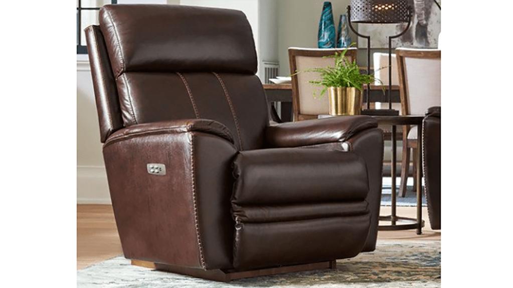 la-z-boy leather power rocker recliner