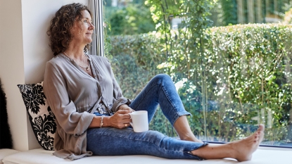A Woman Relaxing story image