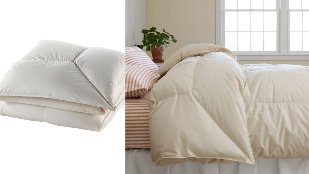 ll bean down comforter