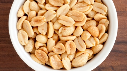 Bowl of peanuts