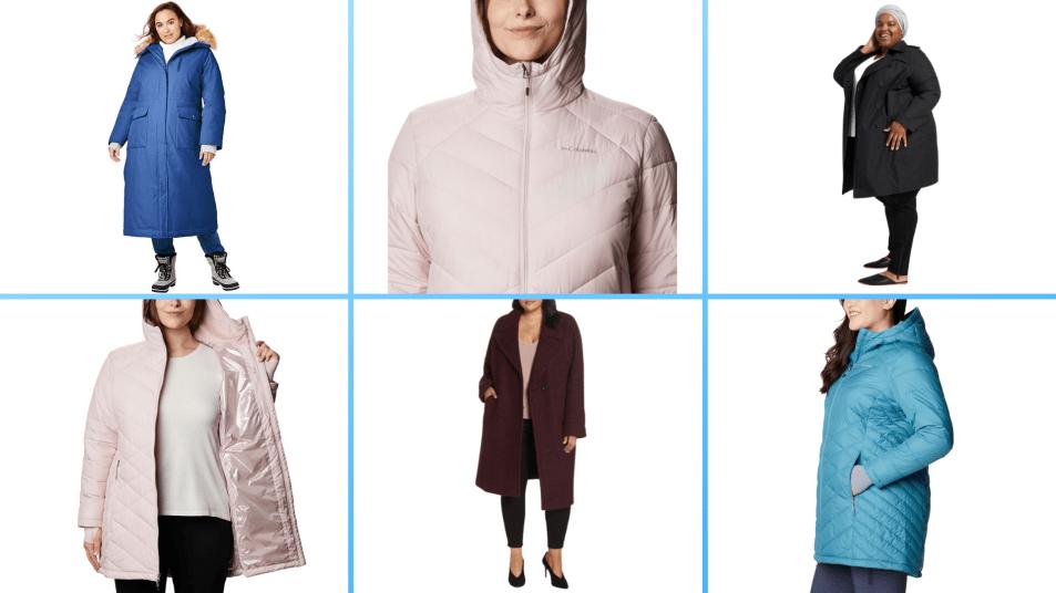 best plus size womens winter coats