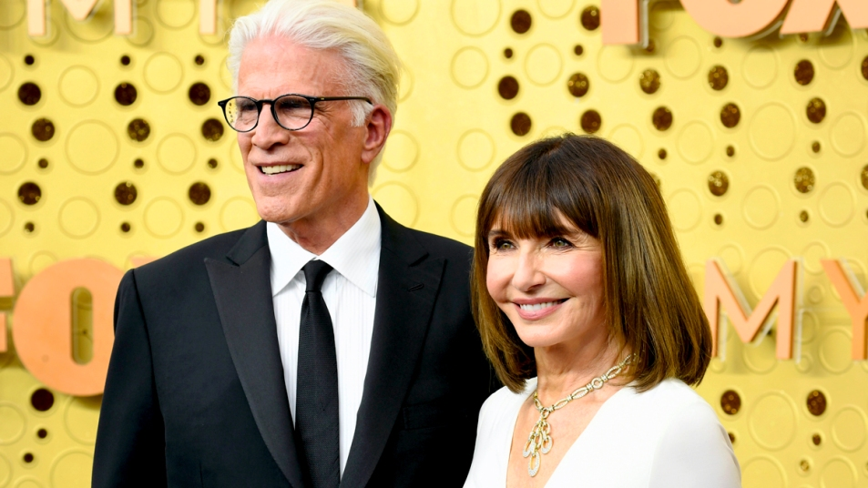 Ted Danson and Mary Steenbergen