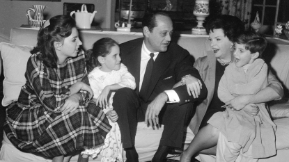 Judy Garland and Her Family