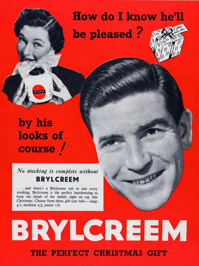 Brylcreem ad from 1953