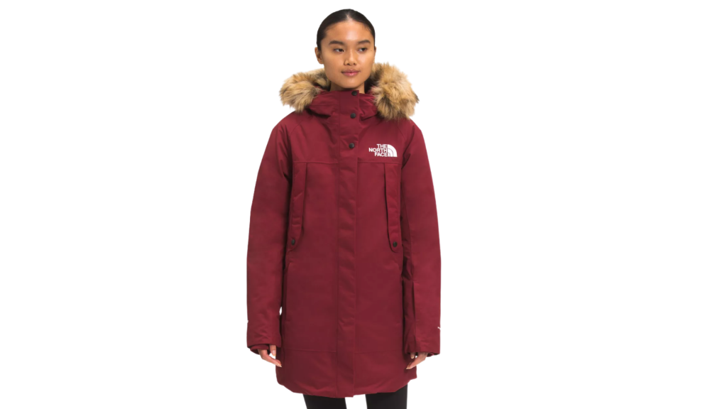north face parka best women's winter coats for extreme cold