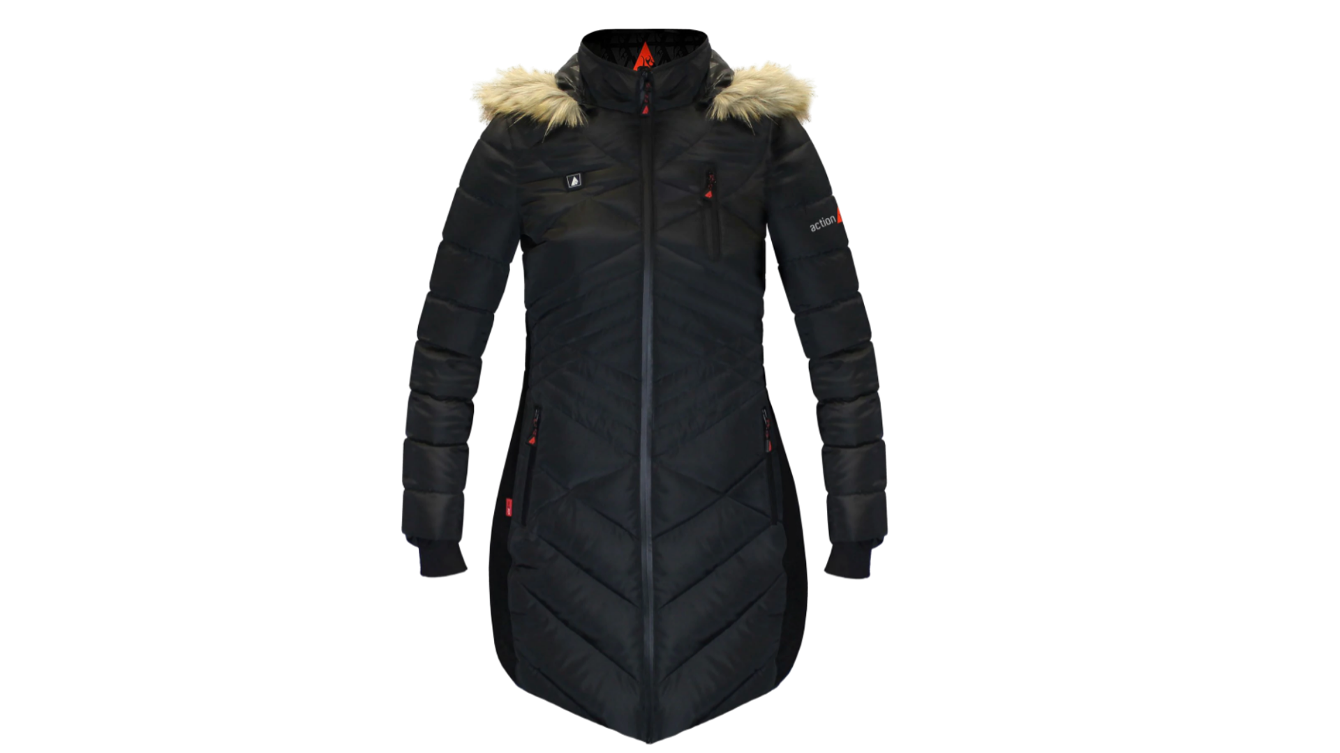 heated puffer jacket best women's winter coats for extreme cold