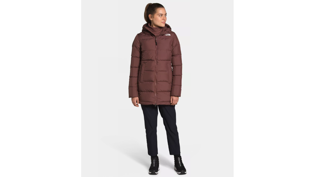 North Face Hooded Parka