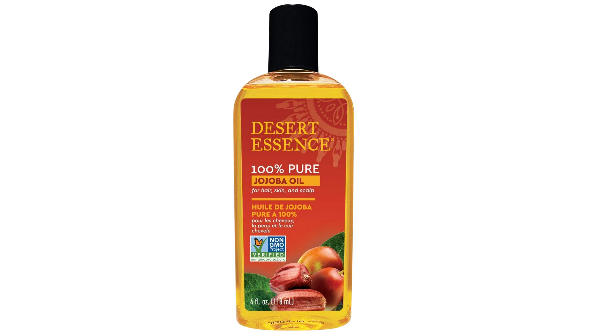 Desert Essence 100% Pure Jojoba Oil skin and hair