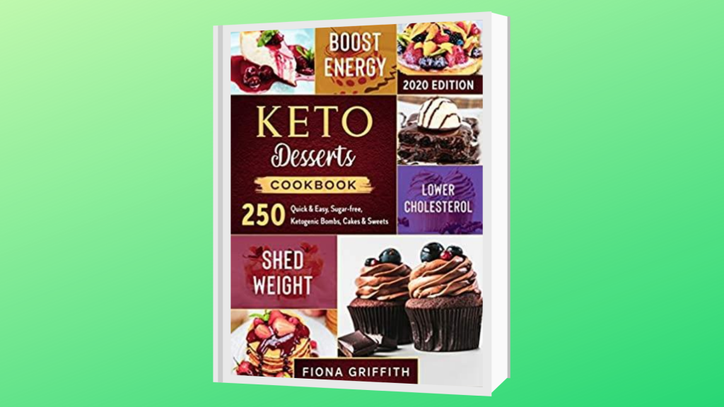best keto dessert cookbook
