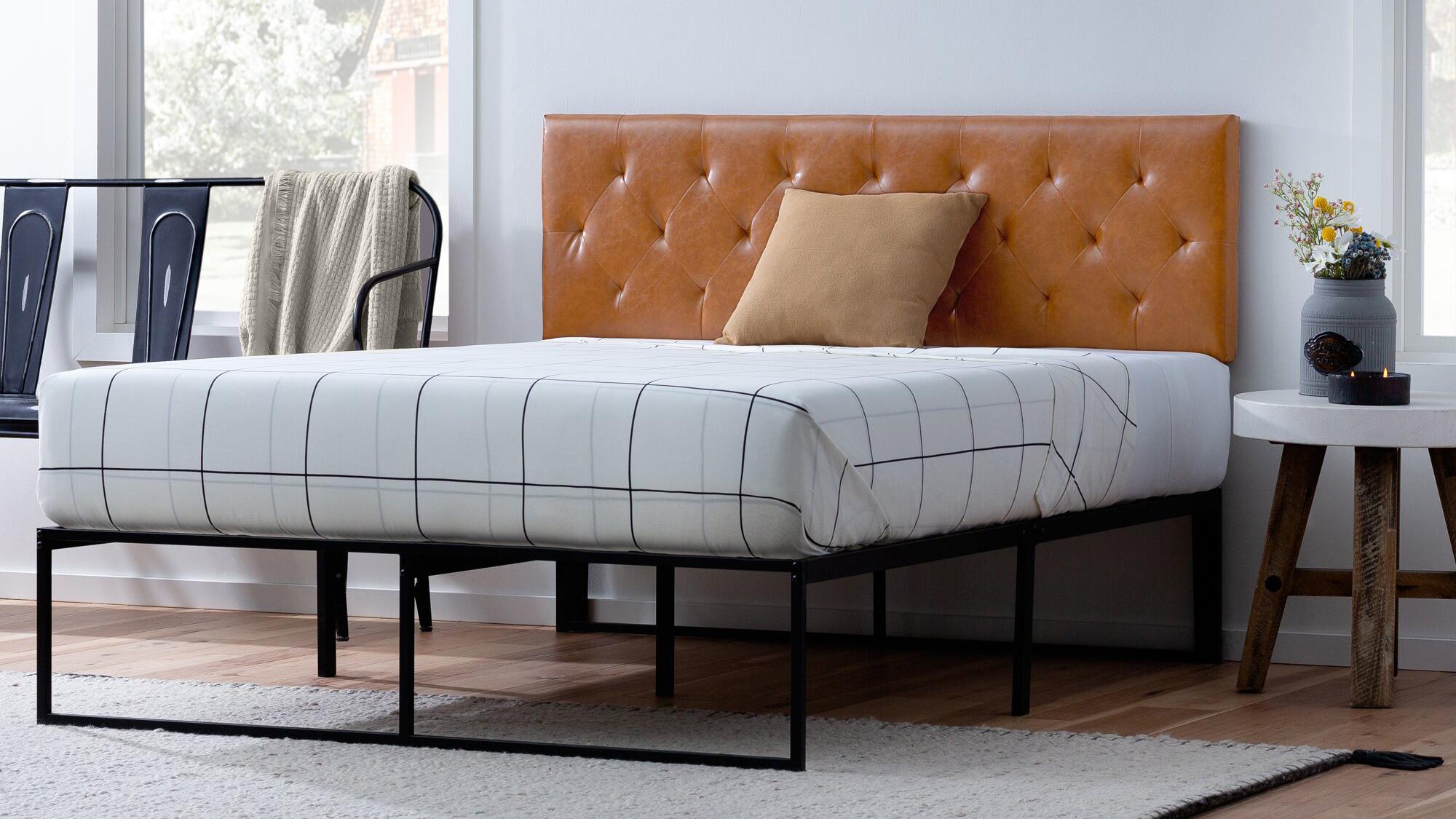 Conoly Upholstered Panel Headboard