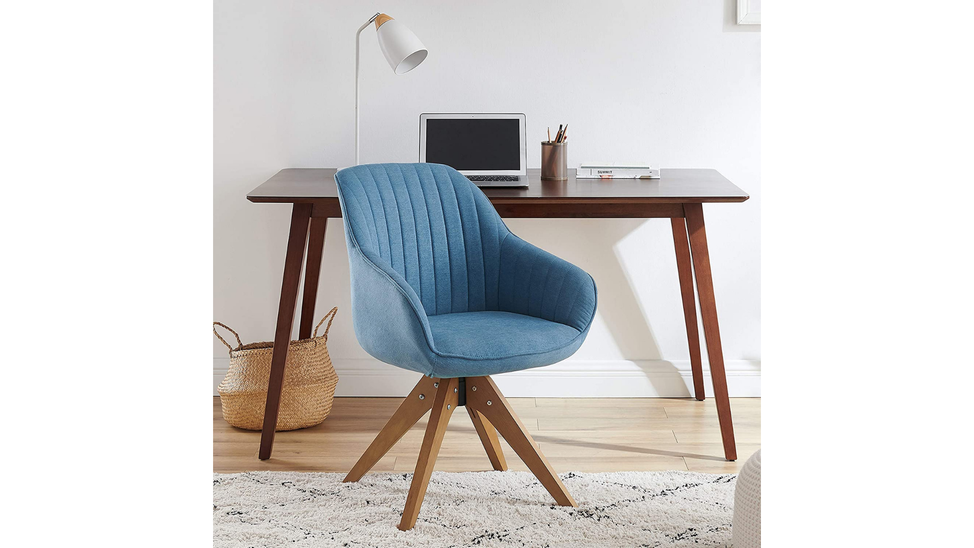 15 Best Desk Chairs With No Wheels, Modern Home Office Chair No Wheels