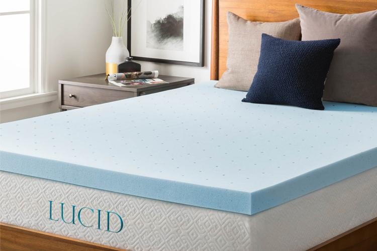 best gel memory foam mattress topper