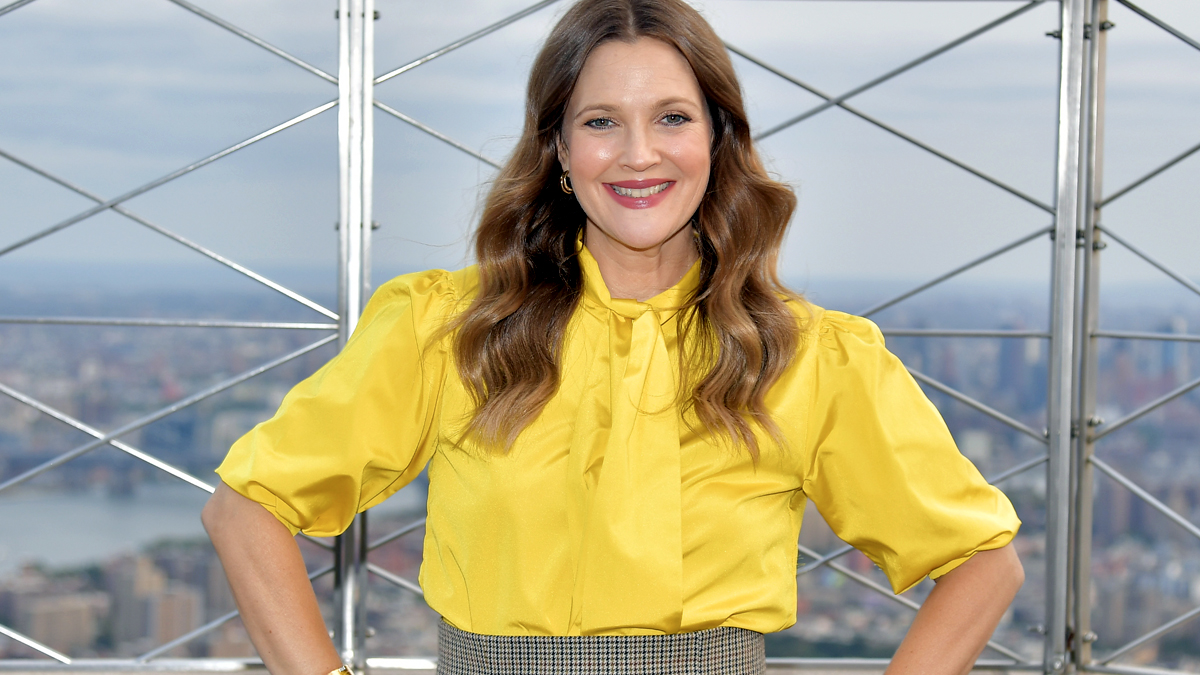 Drew Barrymore is Obsessed With This Drugstore Eye Cream for Dark Circles