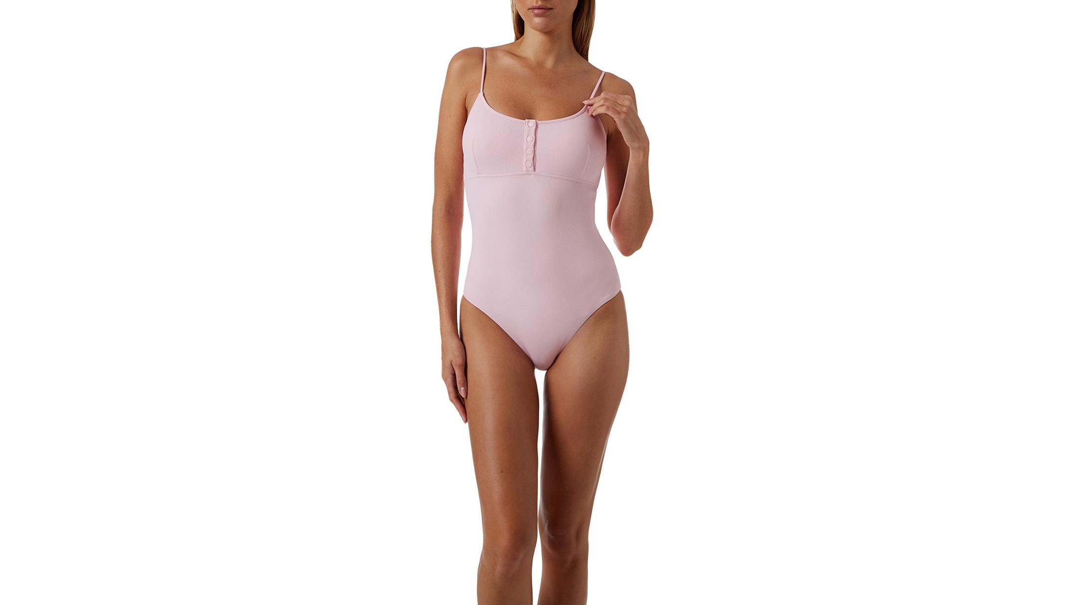 Melissa Odabash Calabasas Ribbed Swimsuit