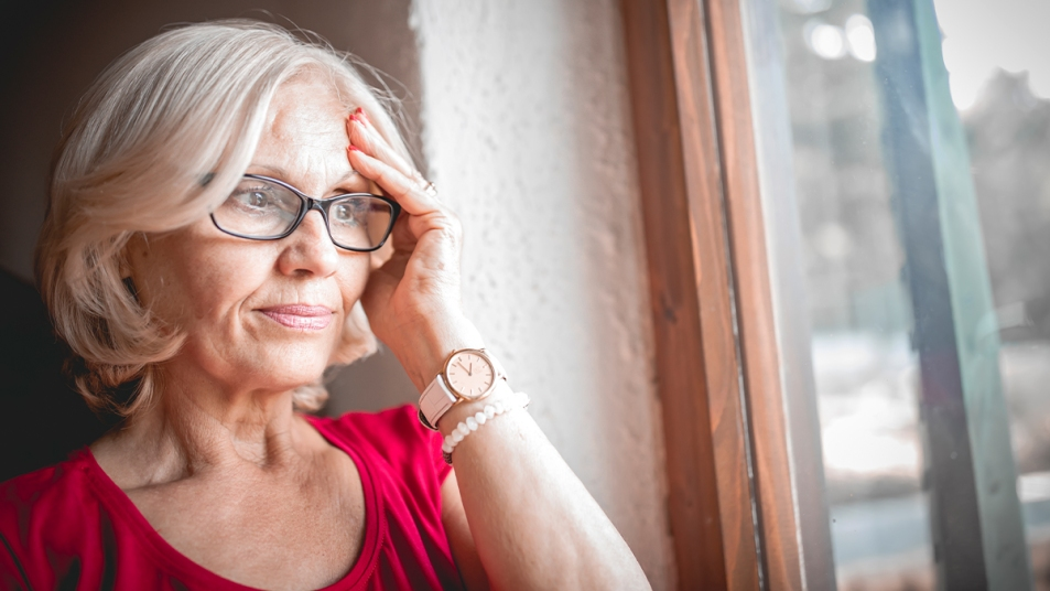 Women experiencing forgetfulness