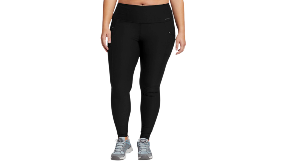 Eddie Bauer best plus size leggings with pockets