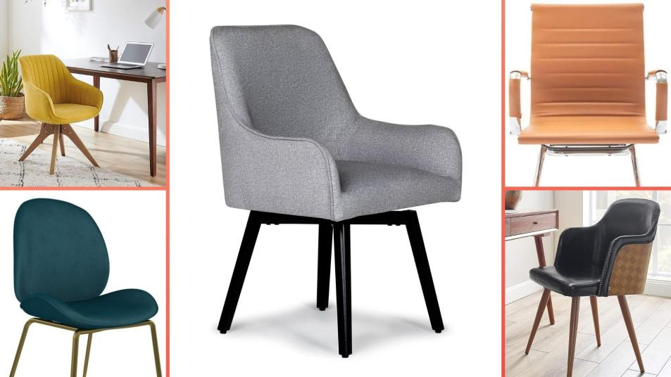 15 Best Desk Chairs With No Wheels, Home Goods Chairs On Wheels