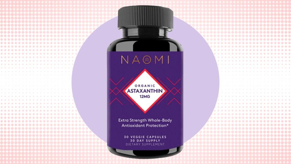 NAOMI astaxanthin supplement
