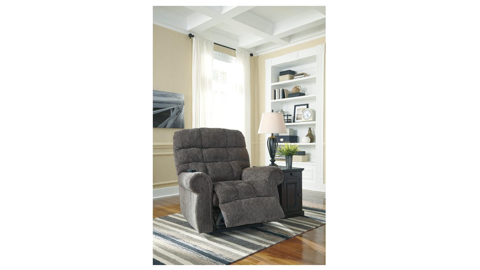 Ashley Ernestine power lift recliner
