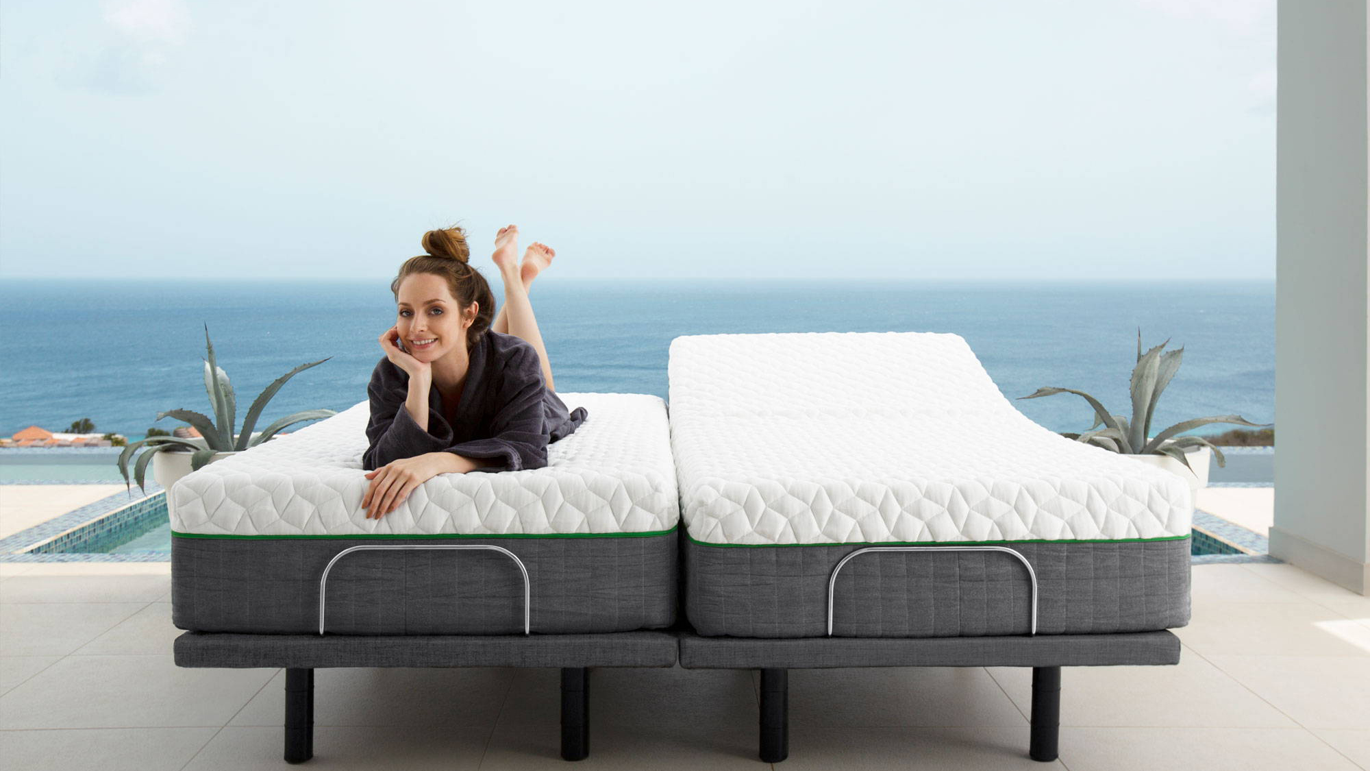 Cariloha adjustable bed