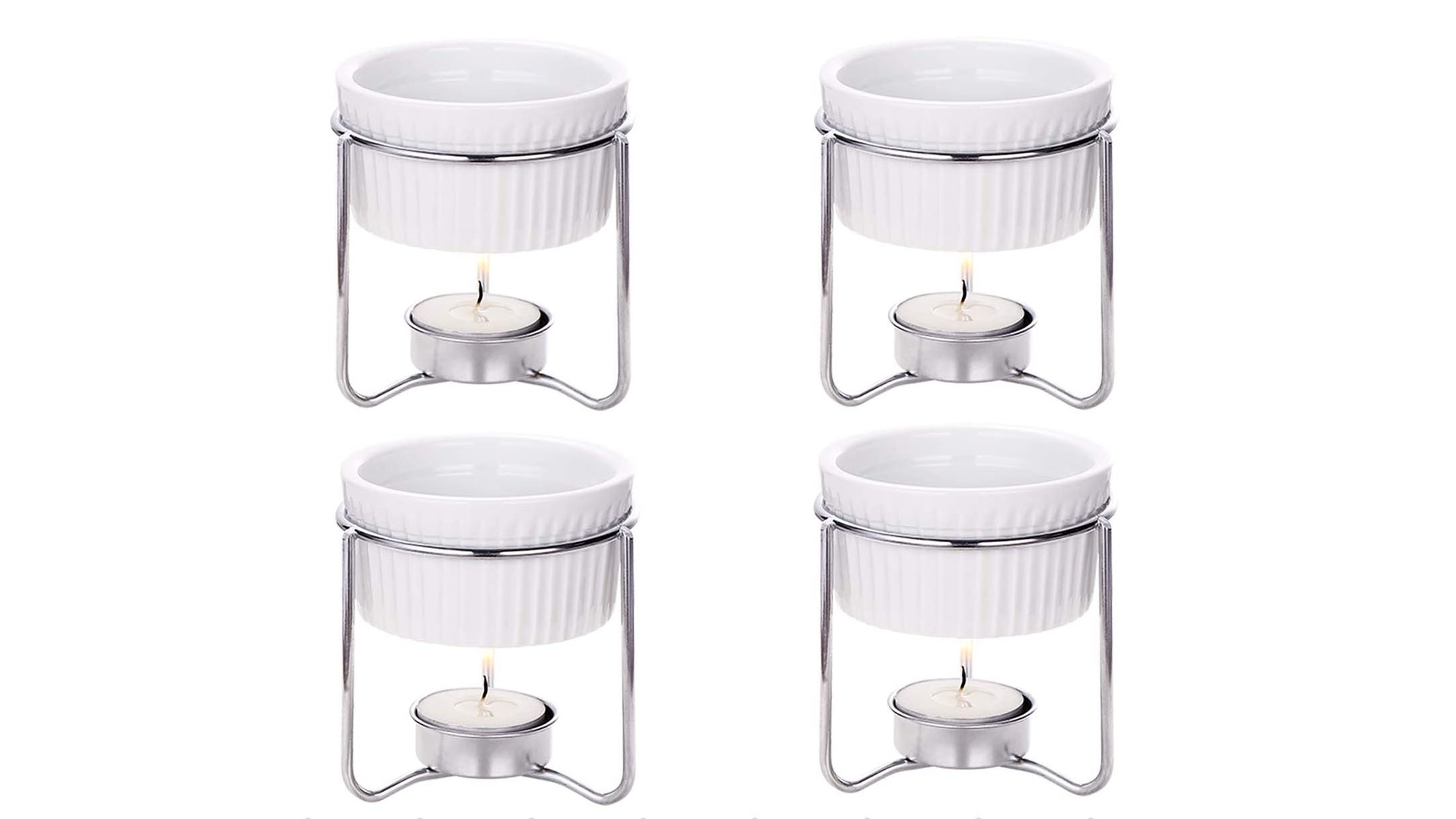 Hiware ceramic butter warmers