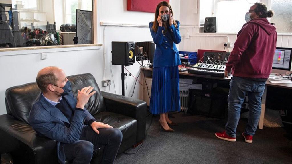 Kate Middleton DJ'ing in Scotland