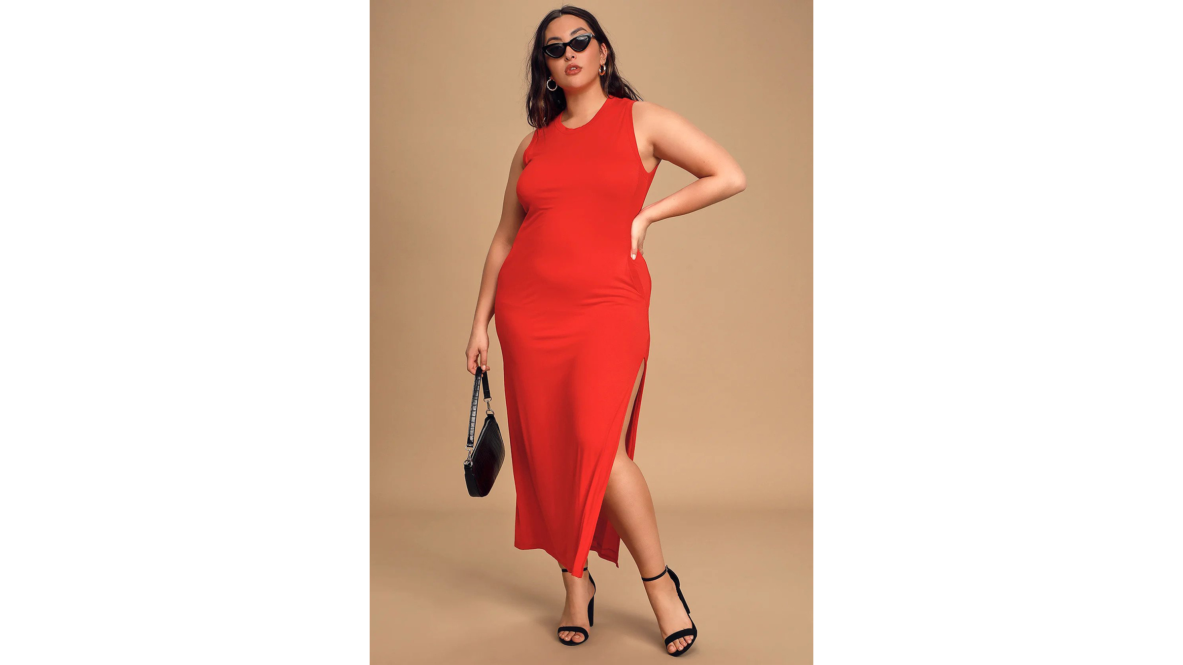 Lulus sleeveless maxi dress